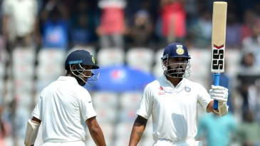 M Vijay and Cheteshwar Pujara both reached their fifties after lunch