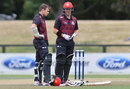 Tom Latham and Henry Nicholls put on 60 for the second wicket, Canterbury v Wellington, Ford Trophy, Hagley Oval, February 8, 2017