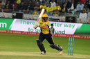 Dawid Malan flicks one away on his way to 43, Islamabad United v Peshawar Zalmi, Pakistan Super League 2017, Dubai, February 9, 2017