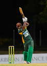 Sunil Ambris drives during his 48, Kent v Windward Islands, Regional Super50, Group A, Coolidge, February 10, 2017