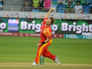 Shane Watson delivers the ball, Lahore Qalandar v Islamabad United, PSL, February 11, 2017