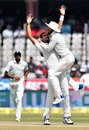 KL Rahul leaps on Ishant Sharma after he took out Mahmudullah, India v Bangladesh, one-off Test, Hyderabad, 5th day, February 13, 2017