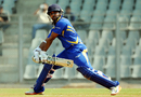 Parthiv Patel plays a reverse-sweep during his innings of 56, North Zone v West Zone, Syed Mushtaq Ali Trophy, Inter zonal, Mumbai, February 13, 2017