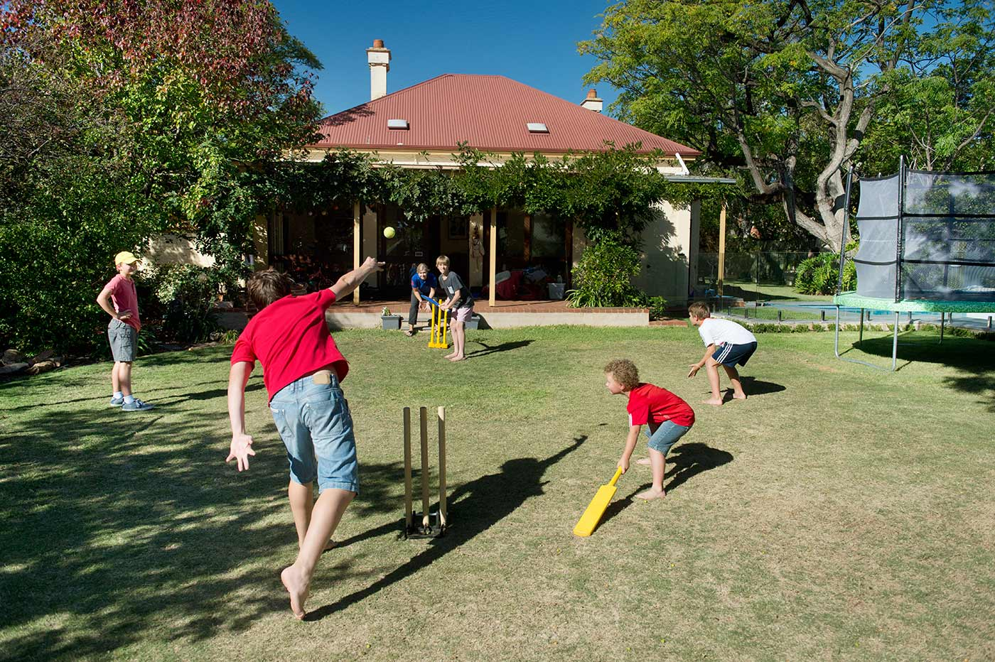 Backyard cricket: making fast bowlers out of little girls since forever