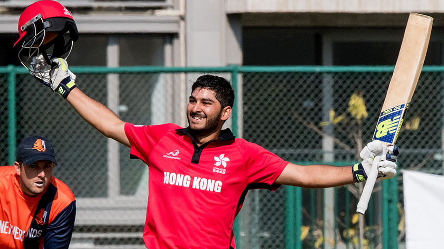 Anshuman Rath is jubilant after scoring his maiden List A century