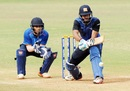 Manoj Tiwary attemps a reverse sweep, East Zone v North Zone, Syed Mushtaq Ali Inter Zonal, Mumbai, February 16, 2017