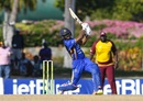 Shai Hope struck eight fours and five sixes en route to second List A hundred, Barbados v Leeward Islands, semi final, Regional Super50, Antigua, February 16, 2017