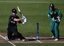 Kane Williamson played the sweep to great effect in his innings, New Zealand v South Africa, 1st ODI, Hamilton, February 19, 2017