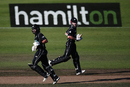 Dean Brownlie and Kane Williamson put on 50 runs for the second wicket, New Zealand v South Africa, 1st ODI, Hamilton, February 19, 2017