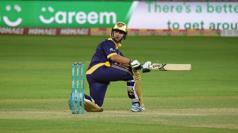 Rilee Rossouw guides the ball to fine leg