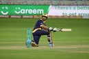 Rilee Rossouw guides the ball to fine leg, Karachi Kings v Quetta Gladiators, Pakistan Super League 2017, Dubai, February 11, 2017