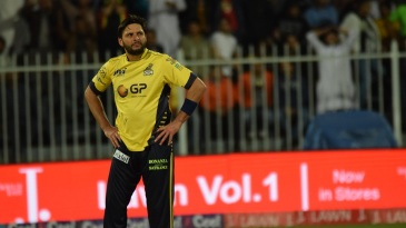 Shahid Afridi in a contemplative mood