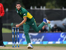 Wayne Parnell delivers the ball, New Zealand v South Africa, 2nd ODI, Christchurch, February 22, 2017
