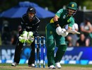 JP Duminy struck 34 at No. 4, New Zealand v South Africa, 2nd ODI, Christchurch, February 22, 2017