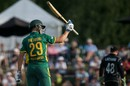 Dwaine Pretorius blitzed a 26-ball 50, New Zealand v South Africa, 2nd ODI, Christchurch, February 22, 2017