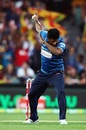 Seekkuge Prasanna puts his dabbing shoes on, Australia v Sri Lanka, 3rd T20 International, Adelaide, February 22, 2017