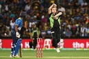 Adam Zampa's legspin fetched him three wickets, Australia v Sri Lanka, 3rd T20 International, Adelaide, February 22, 2017