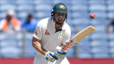 Shaun Marsh says no to a run