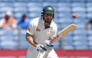 Shaun Marsh says no to a run, India v Australia, 1st Test, Pune, 1st day, February 23, 2017