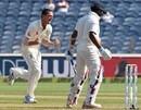 Josh Hazlewood removed M Vijay for 10, India v Australia, 1st Test, Pune, 2nd day, February 24, 2017