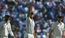 Mitchell Starc waves towards his family, India v Australia, 1st Test, Pune, 2nd day, February 24, 2017