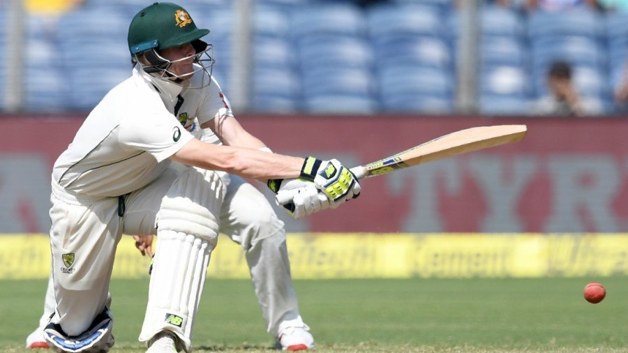 Steven Smith made a resolute half-century