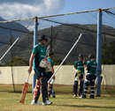 Joe Root prepares to bat during a nets session at Warner Park, St Kitts, February 23, 2017