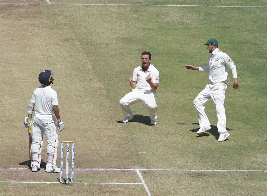 O'Keefe's second-day spell was exceptional - Lehmann