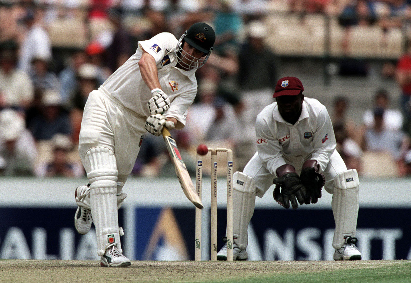 Adam Gilchrist brought wicketkeeping out to the front of the stumps