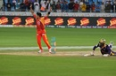 Mohammad Sami celebrates Anwar Ali's dismissal, Islamabad United v Quetta Gladiators, Pakistan Super League 2017, Dubai, February 24, 2017