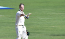 Steven Smith celebrates a fighting hundred, India v Australia, 1st Test, Pune, 3rd day, February 25, 2017