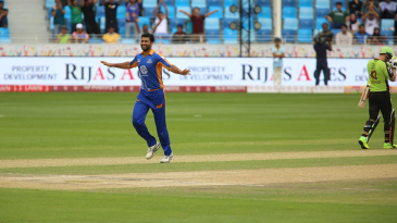 Sohail Khan took the wicket of Fakhar Zaman
