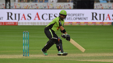 Mohammad Rizwan top-scored for Lahore with 32 not out