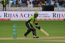 Mohammad Rizwan top-scored for Lahore with 32 not out, Karachi Kings v Lahore Qalandars, PSL 2016-17, Dubai, February 25, 2017