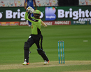 Sohail Tanvir chipped in with a useful 22, Karachi Kings v Lahore Qalandars, PSL 2016-17, Dubai, February 25, 2017
