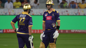 Kevin Pietersen and Rilee Rossouw added 86 runs for the third wicket