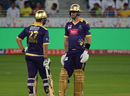 Kevin Pietersen and Rilee Rossouw added 86 runs for the third wicket, Peshawar Zalmi v Quetta Gladiators, PSL 2017, Dubai, February 25, 2017