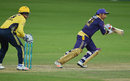 Sarfraz Ahmed could only manage 8 off seven balls, Peshawar Zalmi v Quetta Gladiators, PSL 2017, Dubai, February 25, 2017