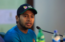 Bangladesh Test captain Mushfiqur Rahim addresses a press conference ahead of the Sri Lanka tour, Dhaka, February 26, 2017