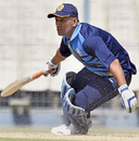 MS Dhoni hit ten fours and six sixes in his 129 against Chhattisgarh, Jharkhand v Chhattisgarh, Vijay Hazare Trophy 2016-17, Kolkata, February 26, 2017