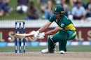 AB de Villiers brings out his unorthodoxy, New Zealand v South Africa, 4th ODI, Hamilton, March 1, 2017