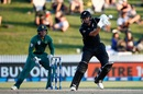 Ross Taylor knocks one through the off side, New Zealand v South Africa, 4th ODI, Hamilton, March 1, 2017