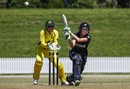 Amy Satterthwaite anchored New Zealand's innings with 85, New Zealand v Australia, 2nd women's ODI, Mount Maunganui, March 2, 2017