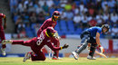 Jonathan Carter snapped up a catch to remove Jos Buttler, West Indies v England, 1st ODI, Antigua, March 3, 2017