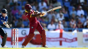 Jason Mohammed's half-century kept West Indies afloat