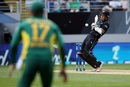 Luke Ronchi gloved a short ball to the wicketkeeper, New Zealand v South Africa, 5th ODI, Auckland, March 4, 2017