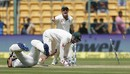 Matthew Wade completes the stumping of Ajinkya Rahane, India v Australia, 2nd Test, 1st day, Bengaluru, March 4, 2017