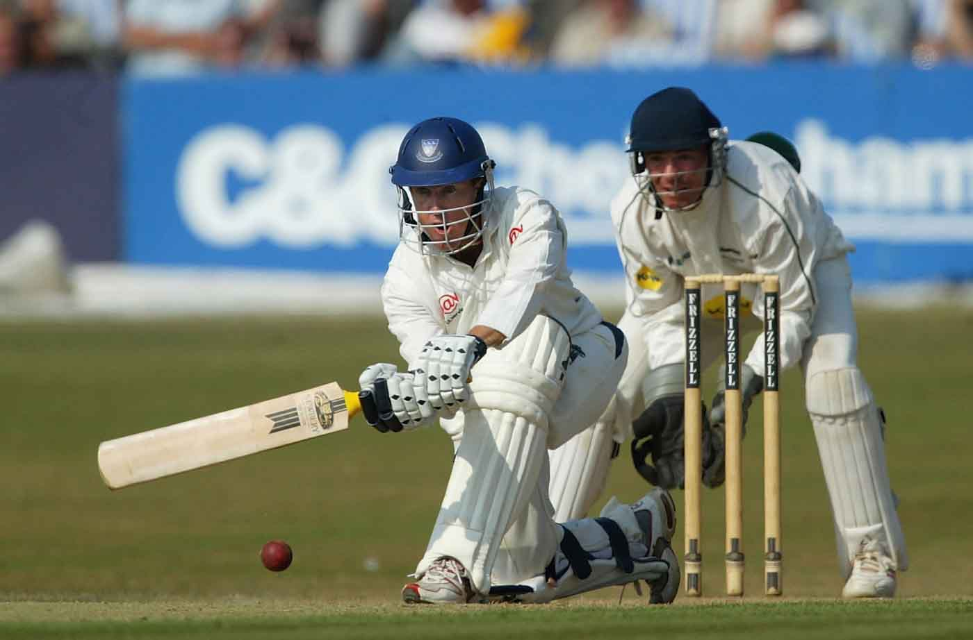 Goodwin made the highest score for a Sussex player - a record that he broke again a few years later