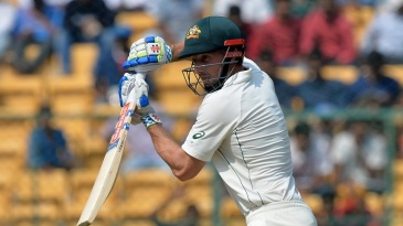 Shaun Marsh struck his sixth Test fifty