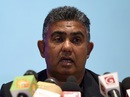 Sri Lanka's new manager Asanka Gurusinha addresses the media, Colombo, March 5, 2017
